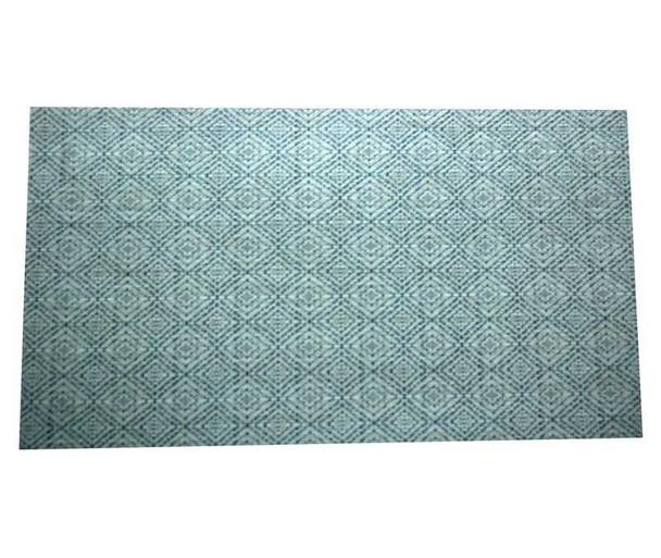 Blue Diamond Design PVC Placemat