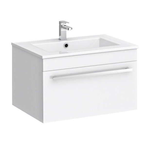 BRAUHN SMD2040W-60WDW WHITE CABINET W/ FAUCET