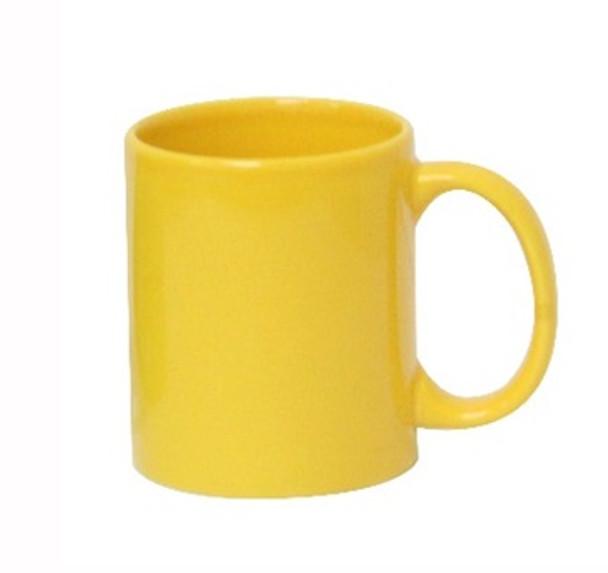CM-Yellow 12oz Ceramic Mug