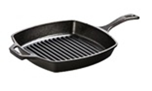 10.5 Inch Square Cast Iron Grill Pan