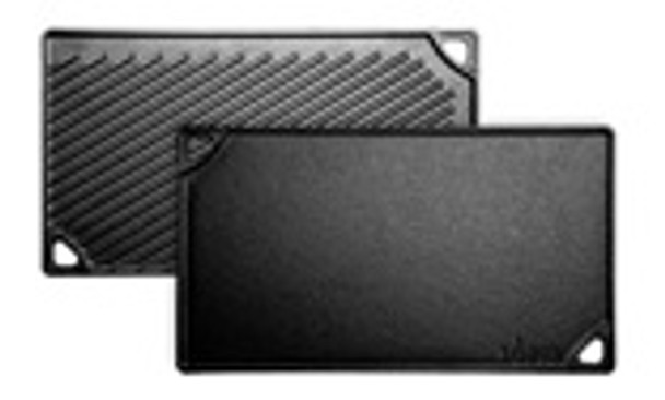 16.75 Inch x 9.5 Inch Cast Iron Reversible Grill/Griddle