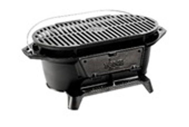 Cast Iron Sportsman's Grill