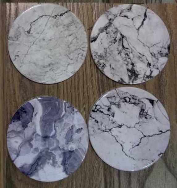 Ceramic Tea/Mug Coaster- Marble Design