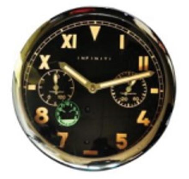 AX1011P-SL 21cm Wall Clock
