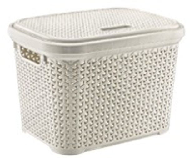 30 LITERS RATTAN STORAGE BASKET