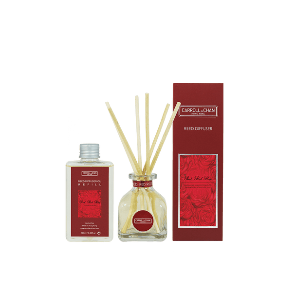 Carroll and Chan Reed Diffuser Red Red Rose 100ml
