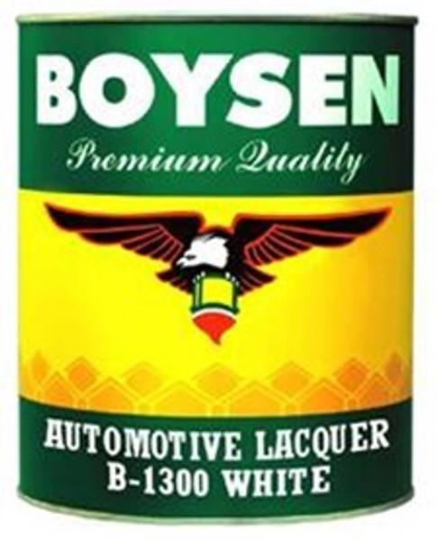 BOYSEN BS 1300 AUTOMOTIVE LACQUER WHITE 4L