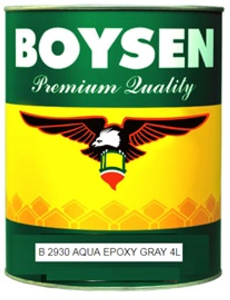 BOYSEN BS 2930 AQUA EPOXY GRAY 4L
