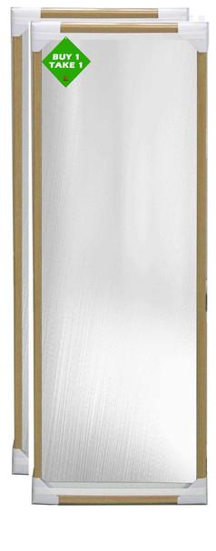 Buy 1 Take 1 Bundle Mirror 12x48 Natural