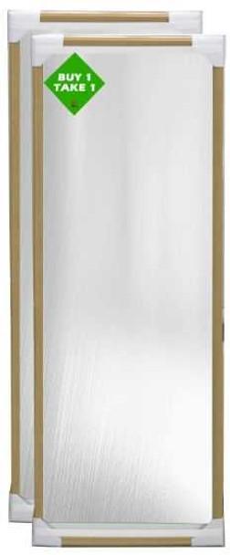 Buy 1 Take 1 Bundle Mirror 12x36 Natural