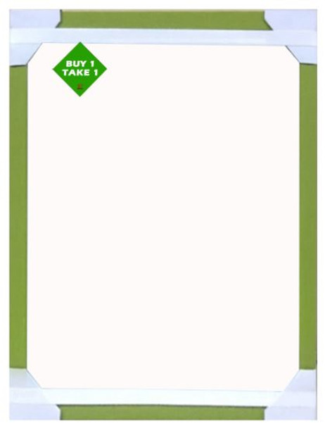 Buy 1 Take 1 Mirror 24x18 Lt Green