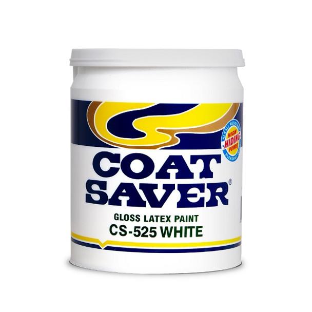 COATSAVER CS-525-1 COAT SAVER LATEX GLOSS WHITE 1L