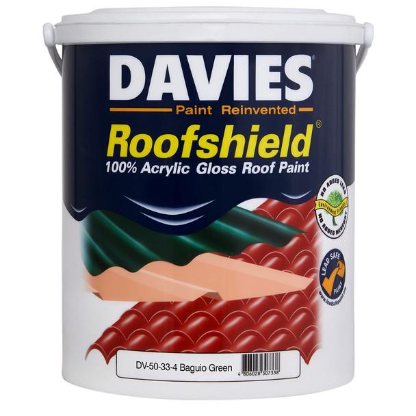 DAVIES DV-50-33-04 ROOFSHIELD BAGUIO GREEN 4L