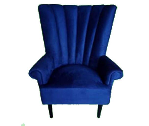 Daria Janine Hi Back Accent Chair