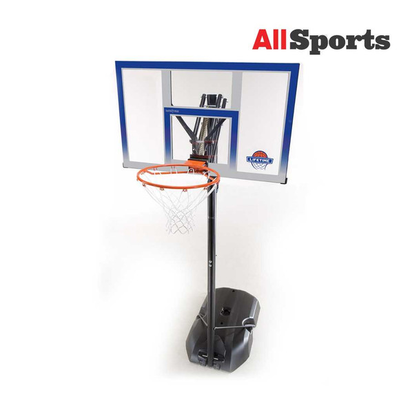 "AllSports -Lifetime Front Court Portable Basketball Goal 48"""