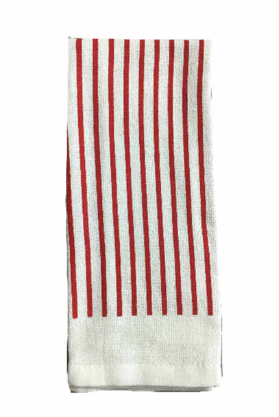 "CASABELLA 14""X24"" SOLID RED KITCHEN TOWEL"