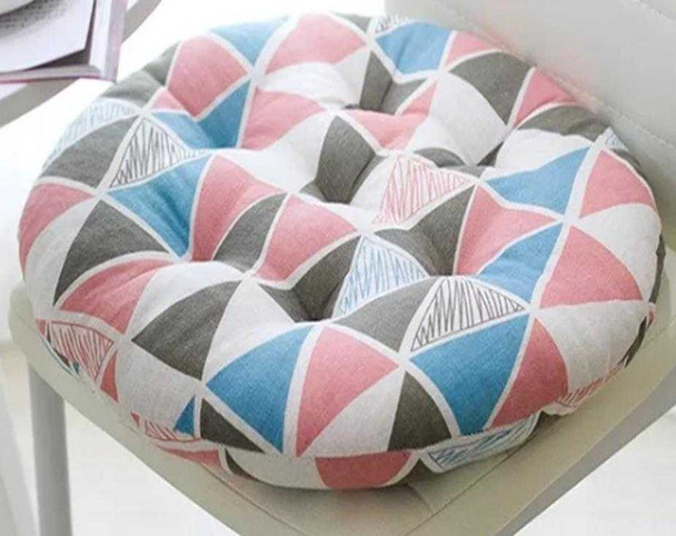 """16""""X16"""" PARTY PINK ROUND CHAIRPAD"""