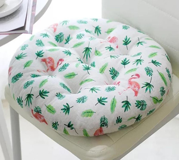 "16""X16"" FLAMINGO ROUND CHAIRPAD"
