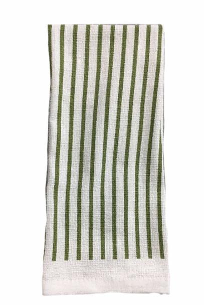 "CASABELLA 14""x24"" SOLID GREEN KITCHEN TOWEL"