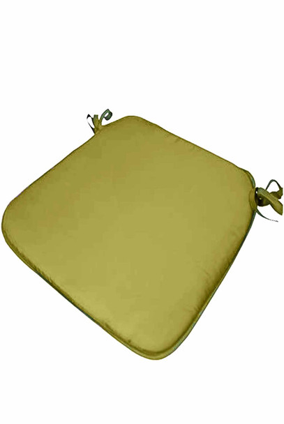 """CASABELLA 13.8""""x16"""" SOLID GREEN CHAIRPAD"""