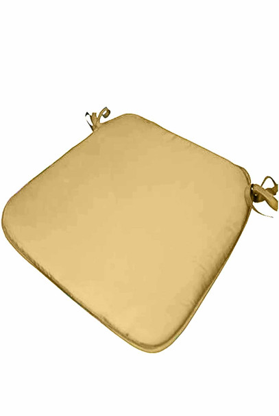 """CASABELLA 13.8""""x16"""" SOLID TAUPE CHAIRPAD"""