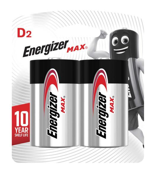 ENERGIZER BATTERY E95BP2 MAX D 2S CARBON ZINC