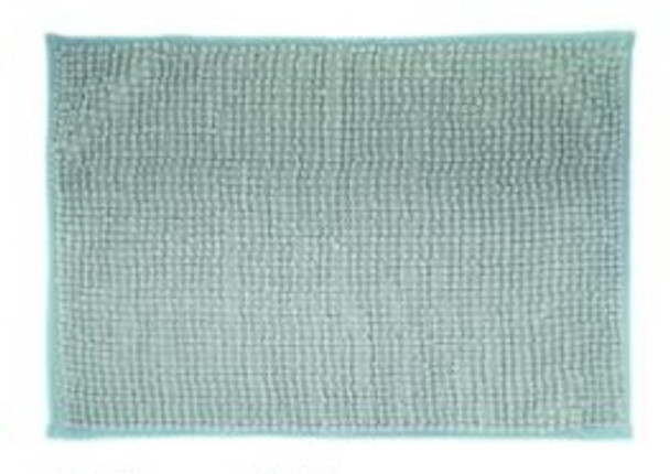 "40""x60"" Light Gray Microfiber Bathrug"