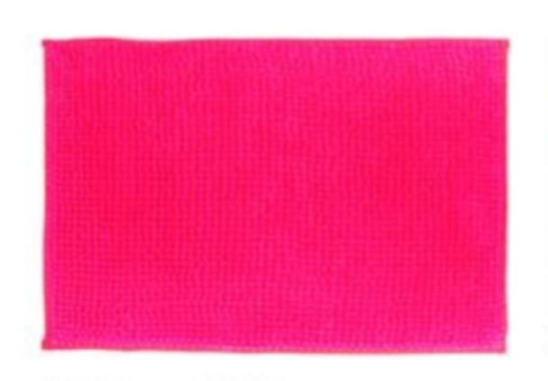 "40""x60"" Dark Pink Microfiber Bathrug"