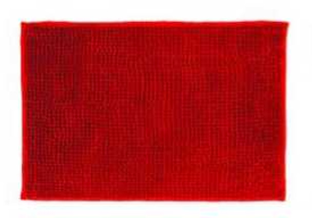 "40""x60"" Red Microfiber Bathrug"