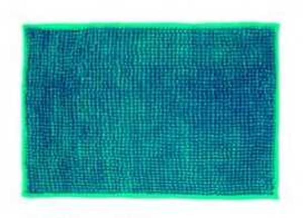 "40""x60"" Blue Microfiber Bathrug"