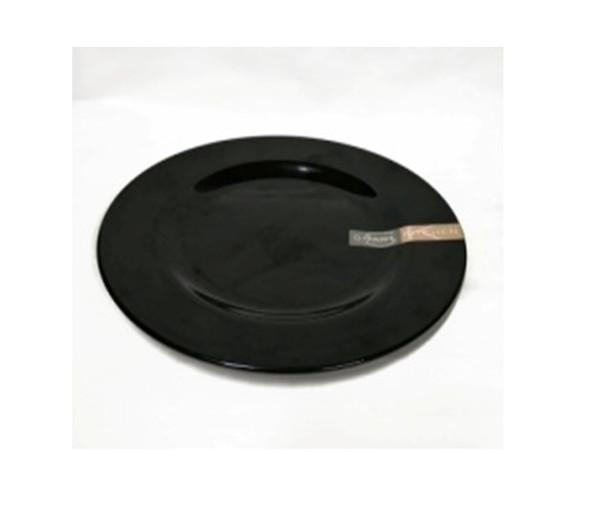 """Black 10"""" Dinner Plate Melamine"""