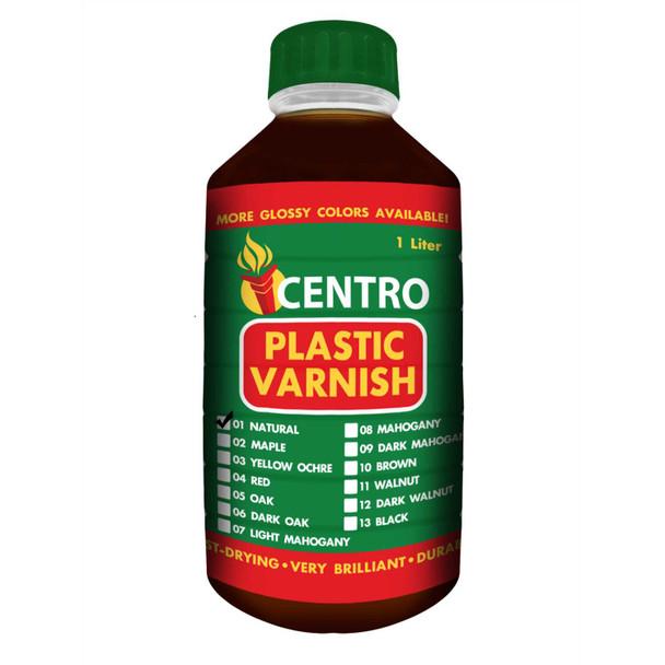 CENTRO PLASTIC VARNISH NATURAL 1L
