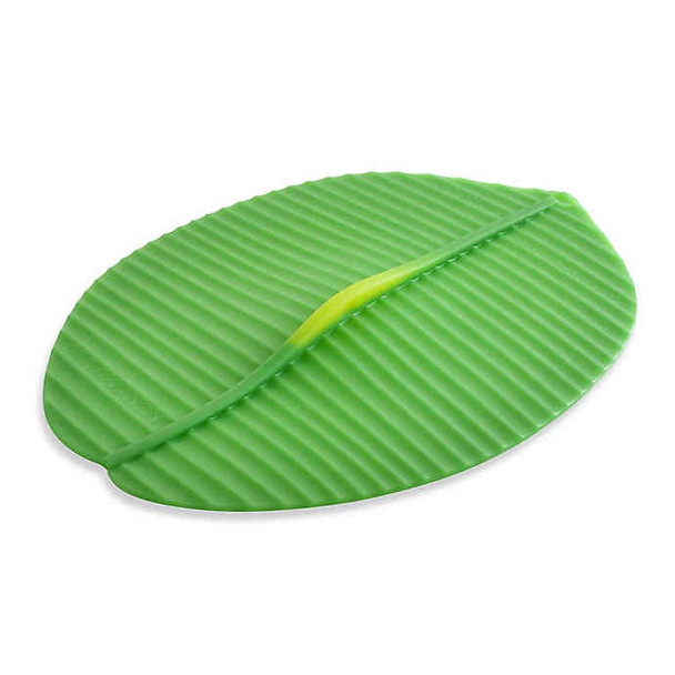 1945451 BANANA LEAF LID 9INX13IN OVAL