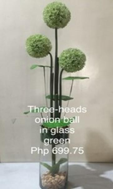 Artificial Onion Flower Ball FA6