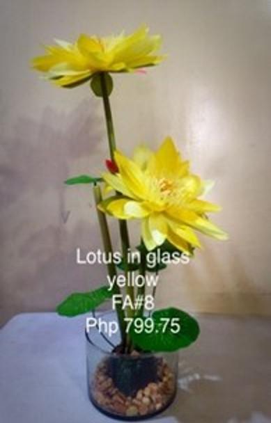 Artificial Lotus Flower Arrangement FA8