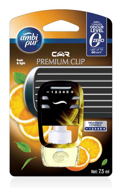 AMBIPUR CAR PREMIUM CLIP STARTER FRESH & LIGHT 7.5ML