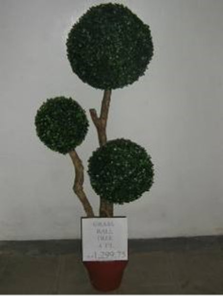 Artificial Plant Topiary Grass Ball