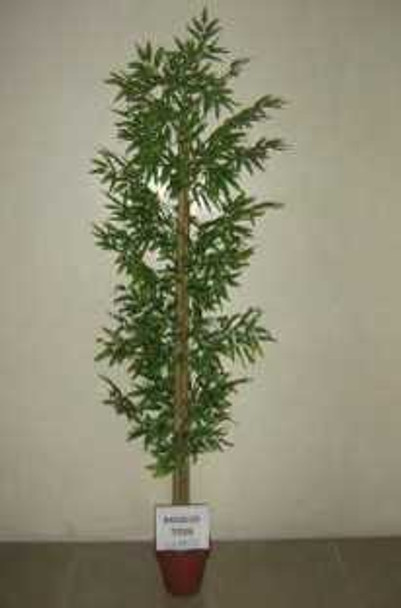 Artificial Plant 6ft Bamboo Brown Trunk