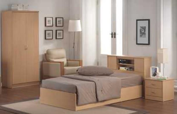 VENICE 36X75 BEDROOM PACKAGE  Inclusions:36x75 Bedframe1pc Night Table2 Door Wardrobe Cabinet