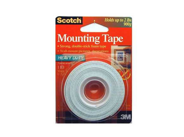 3M SCOTCH MOUNTING TAPE 3M1102A