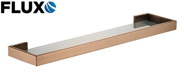 Ahba15 Glass Shelf Rose Gold SS304