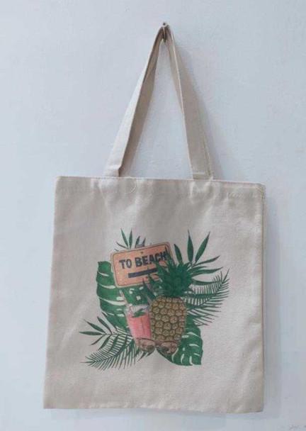 Canvass Tote Bag 22X20cm B1T1