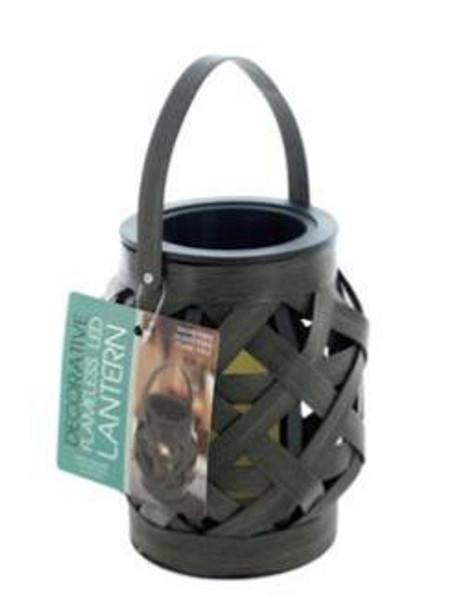 Decorative Basket Weave Latern