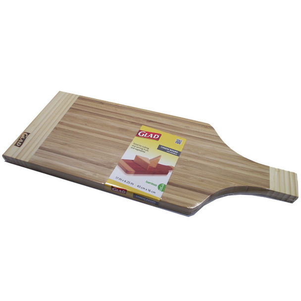 Glad Bamboo Cheese Board 43Cmx15.87Cm