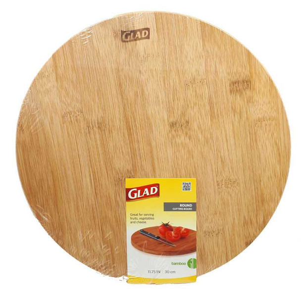 Glad Round Serving Board 30Cmx30Cm