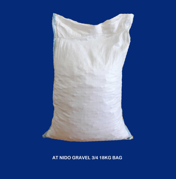 "Bagged Gravel 3/4"""