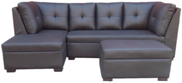 EDU corner sofa set