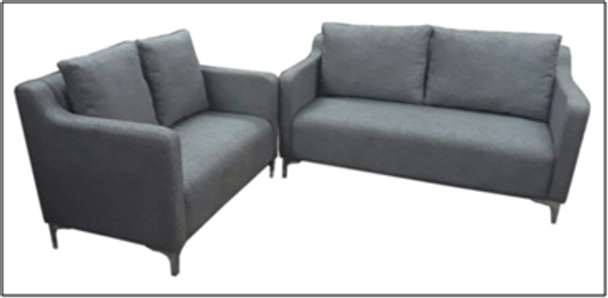 FROCH3-2 SEATER SOFA SET