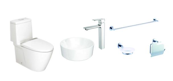 Acacia E P2307-02 Toilet Package