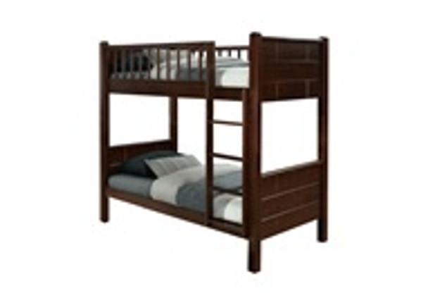 Adenver Wooden Twin Bunk Bed